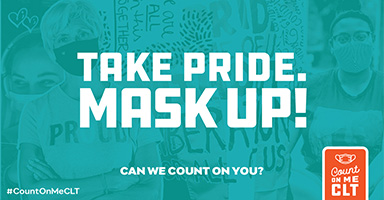 Bring your own mask to wear inside (required) and on the trail (recommended).