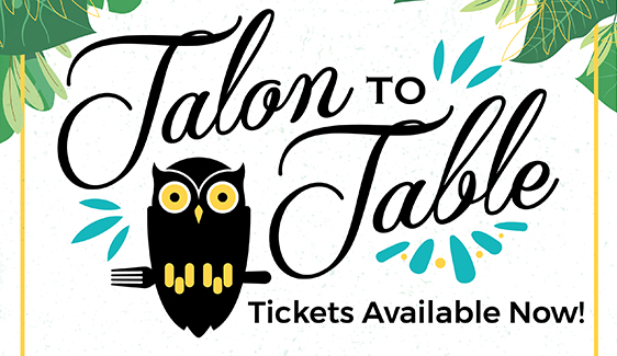 Talon to Table 2019 Tickets Now Available!